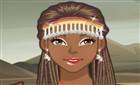 Afrika Güzeli Makyaj