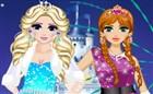 Anna ve Elsa Balo Hazırlığı