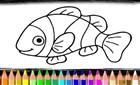 Balık Boyama Kitabı