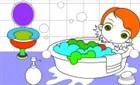 Banyodaki Kızı Boya