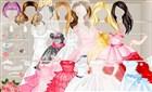 Barbie Gelinlik Giydirme