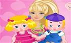 Barbie İkiz Bebek Bakıcısı