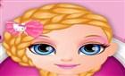 Bebek Barbie Örgülü Saçlar