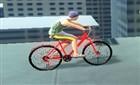Çatıda Bisiklet Sürme
