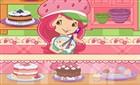 Çilek Kız Pasta Yapma
