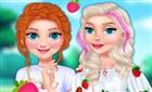 Elsa ve Anna Çilek Modası