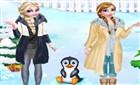Elsa ve Anna Kutup Gezisi
