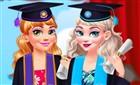 Elsa ve Anna Mezuniyet Töreni