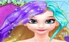 Elsanın Yeni Saç Modeli