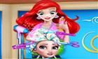 Elsanın Yeni Saç Stili