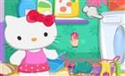 Hello Kitty Çamaşır Yıkama