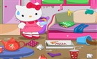 Hello Kitty Ev Temizliği