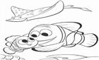 Kayıp Balık Nemo Boyama
