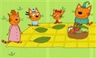 Kedi Ailesi Piknikte