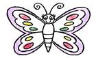 Kelebek Boyama Kitabı