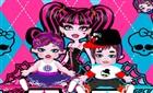 Monster High İkiz Bebek Bakımı