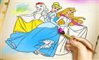 Prensesler Boyama Kitabı