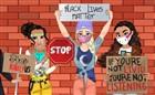 Prensesler Protesto Gösterisi