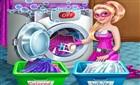 Süper Barbie Çamaşır Yıkama