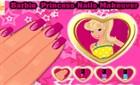 Süper Barbie Tırnak Boyama